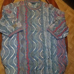 Vintage short sleeve 4xt coogi sweater